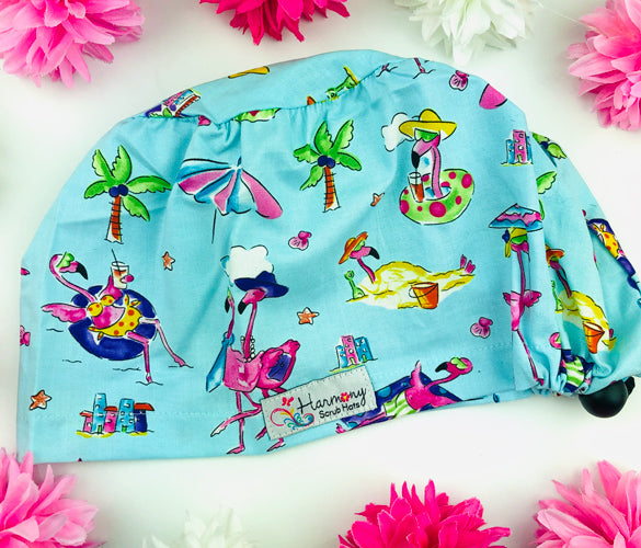 Flamingo Chill EURO® Scrub Hat