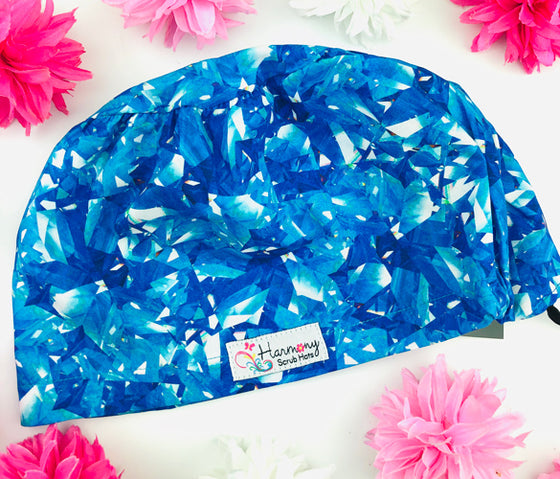 Shattered Glass EURO® Scrub Hat
