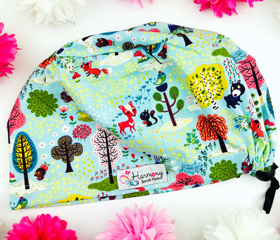 Forest Critters EURO® Scrub Hat