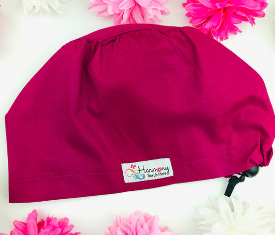 SOLID Berry EURO® Scrub Hat