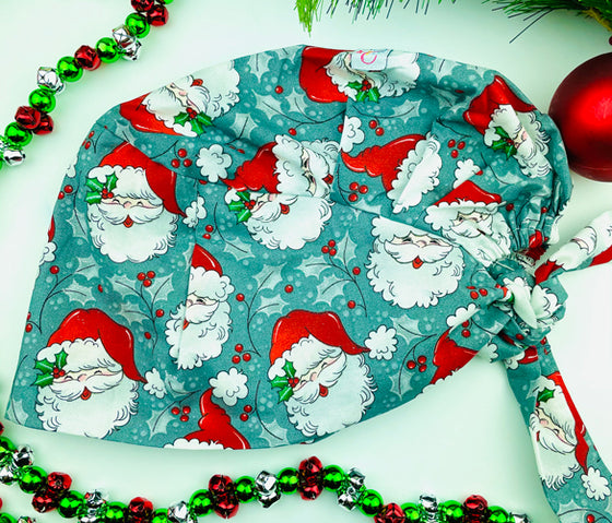 CHRISTMAS Saint Nick Florence™ Scrub Hat