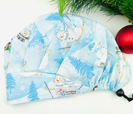CHRISTMAS Cheer Modern Bouffant™ Scrub Hat