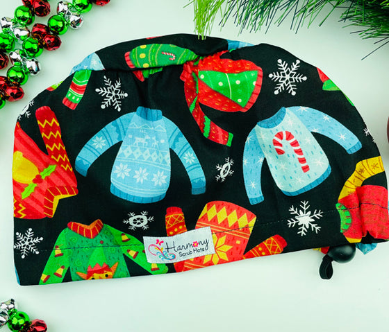 CHRISTMAS Sweaters EURO® Scrub Hat