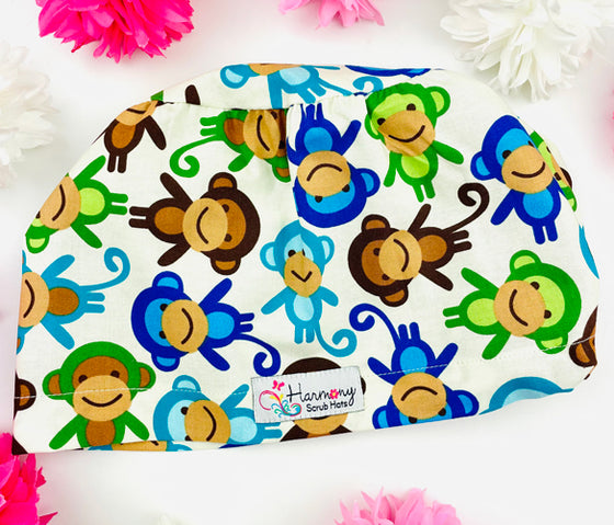 Monkey Joy EURO® Scrub Hat