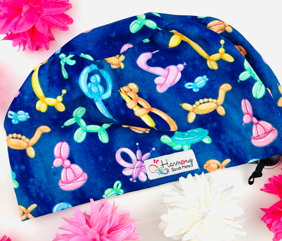 Balloon Animals EURO® Scrub Hat