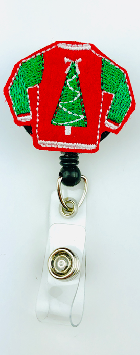 Ugly Sweater Badge Pull - Harmony Surgical Designs