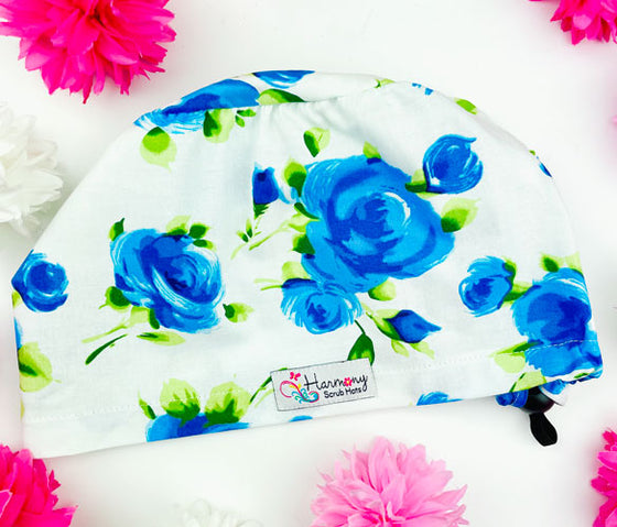 Blue Rose EURO® Scrub Hat