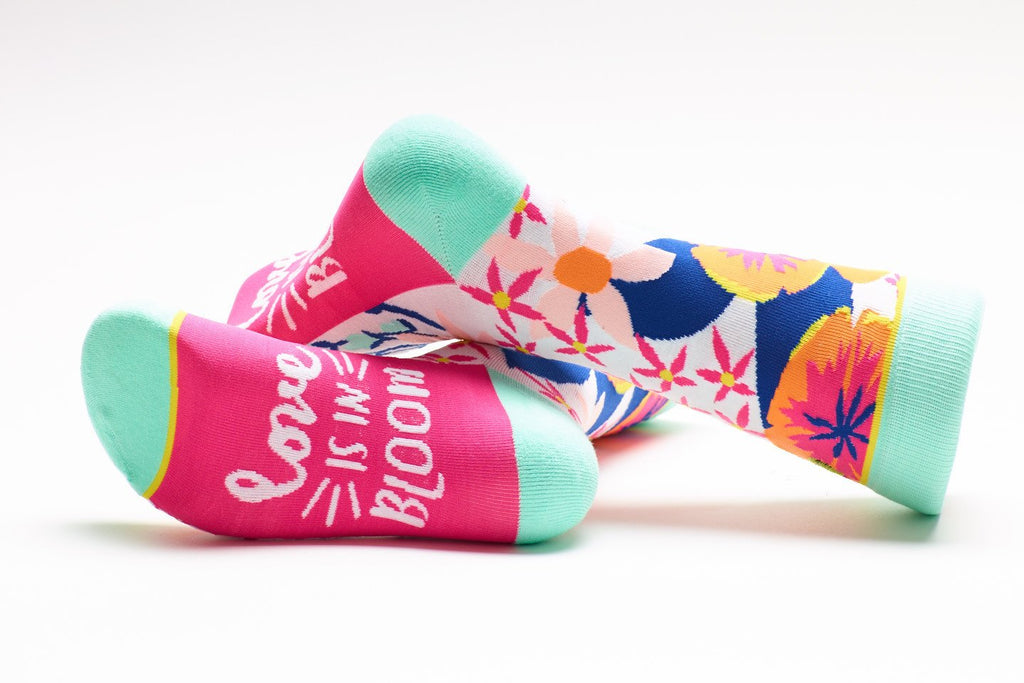 Love Is In Bloom Crew Socks