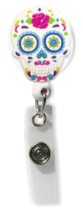 Sugar Skulls Badge Pull
