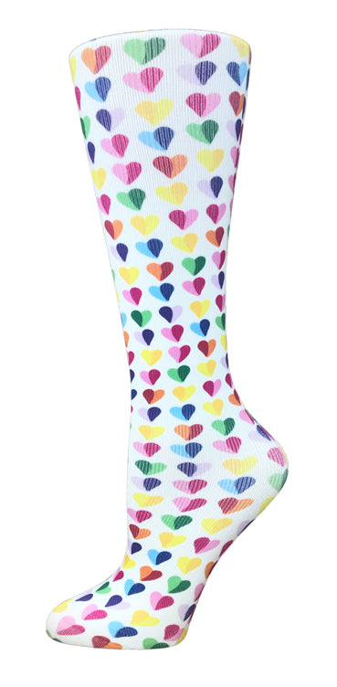 Sweethearts Knee High Compression Socks - 10-18mmHg Knit