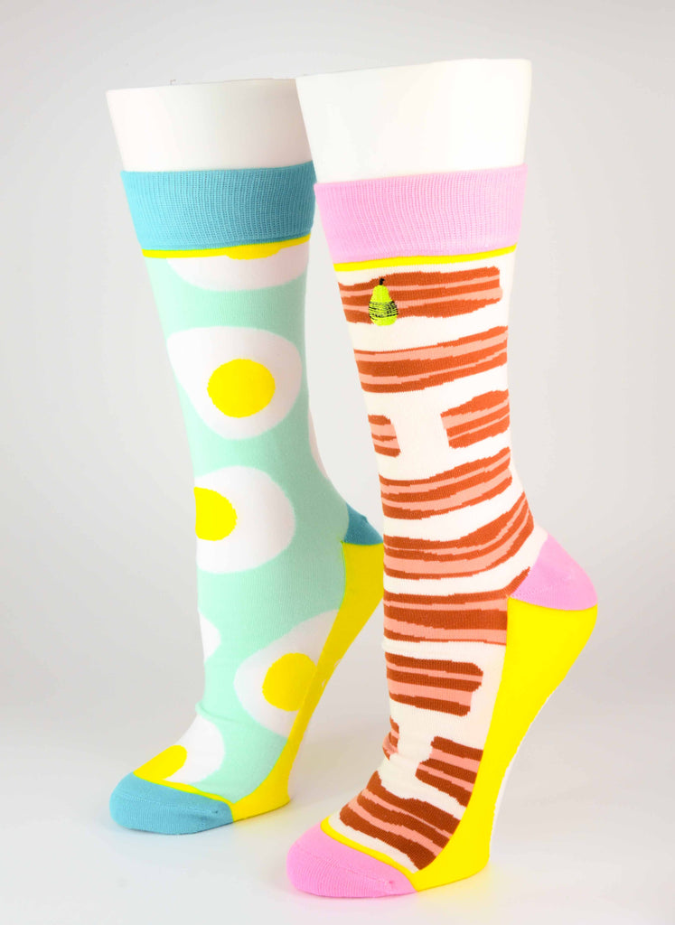 Bacon & Eggs Crew Socks