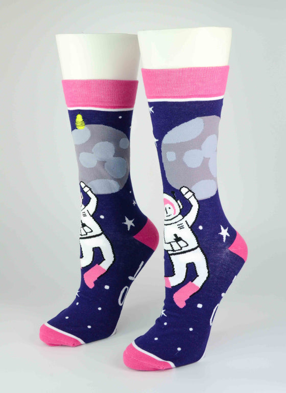 Bad Astronaut Crew Socks - Harmony Surgical Designs