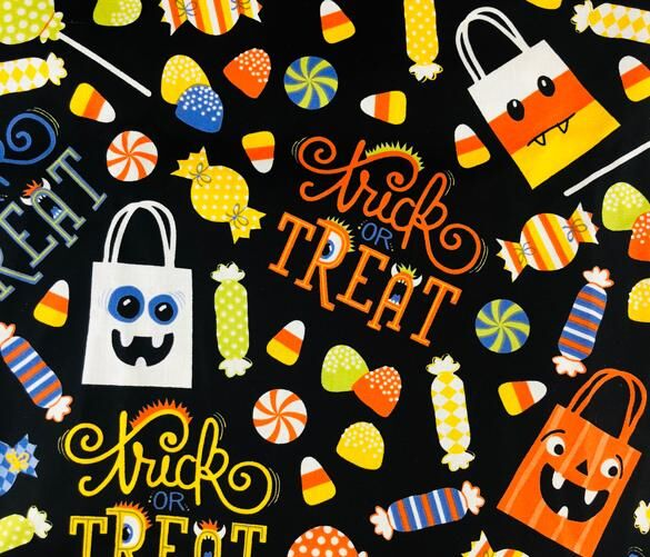 Trick Or Treat Florence™ Scrub Hat FL43