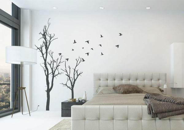 large removable tree wall decal