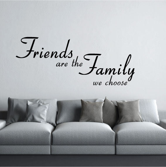 Family We Choose Quotes: Vinyl Wall Decal Quotes Australia