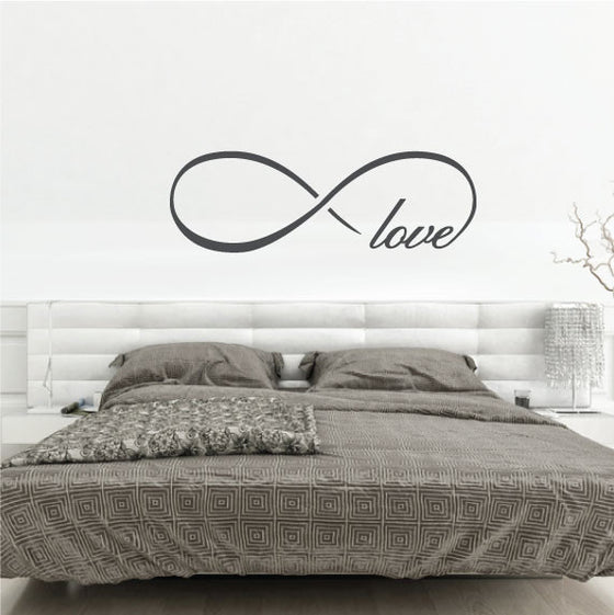 Wall Decal Love Quotes Love Wall Stickers Quotes Australia Fixate Adorable Infinity Love Quotes