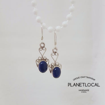Special Edition - Handmade 925 Sterling Silver Earrings - PLANETLOCAL