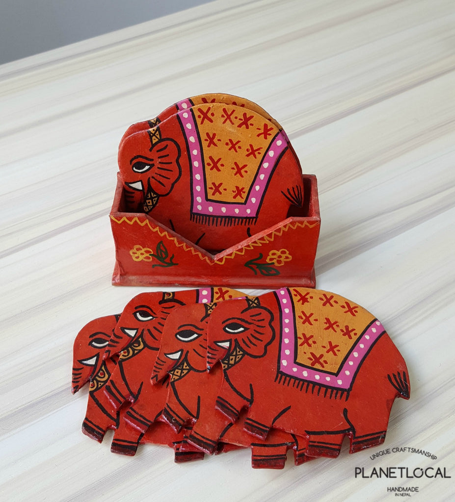 Mithila Art Products - Paper Cup Mat - PLANETLOCAL