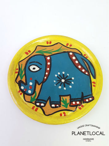 Mithila Art Products - Ceramic Cup Mat - PLANETLOCAL
