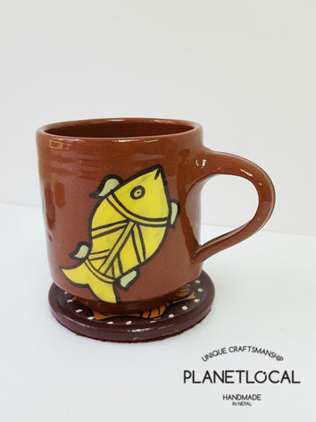 Mithila Art Products - Ceramic Cup - PLANETLOCAL