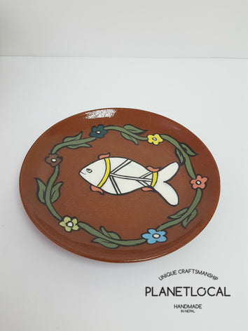 Mithila Art Products - Ceramic Bowl & Plate