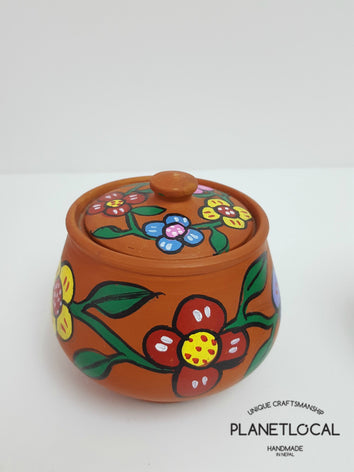 Mithila Art Products - Ceramic Pot - PLANETLOCAL