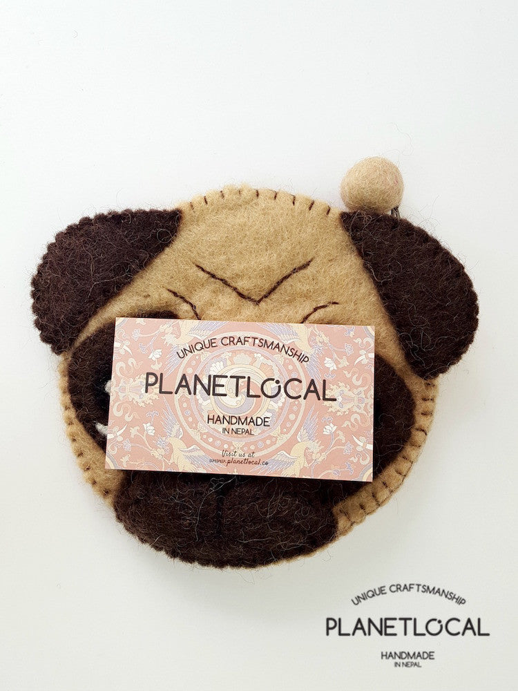 PUGGY- Cute Felt Small Money Purse (5)