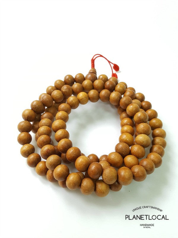 108 buddhist Sandalwood prayer mala bead (1)