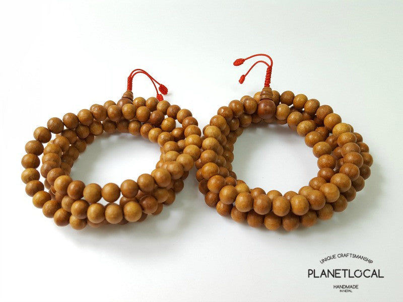 108 buddhist Sandalwood prayer mala bead (2)