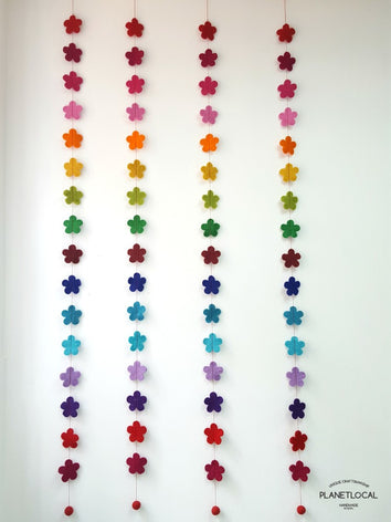 Handmade Flowers Hanging Decor