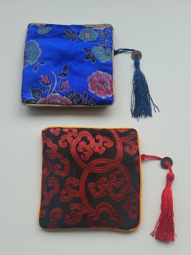 Chinese Brocade Gift Pouch