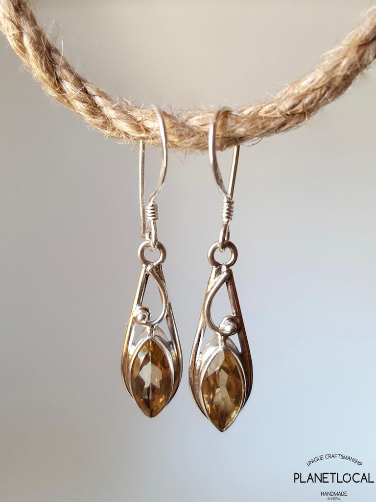 LONGDROP- Handmade 925 Sterling Silver Earrings - PLANETLOCAL