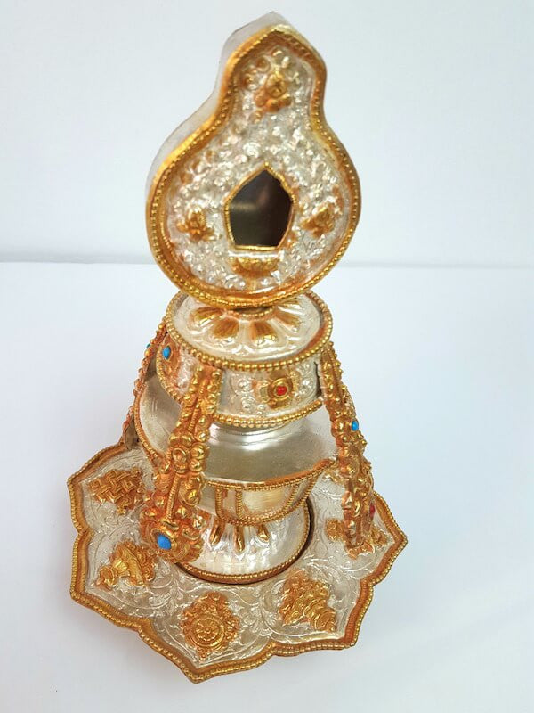 Handmade Gold and Silver Plated Copper Bumpa