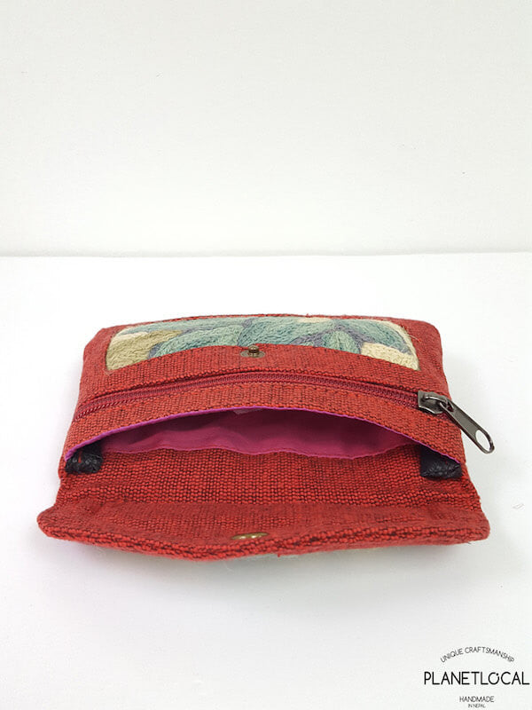 Embroidery Ethnic Himalayan Handmade Coin Purse