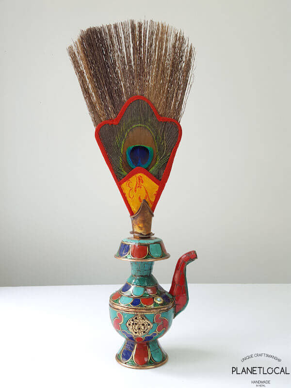 Bumpa- Tibetan sacred water vase for ritual practices
