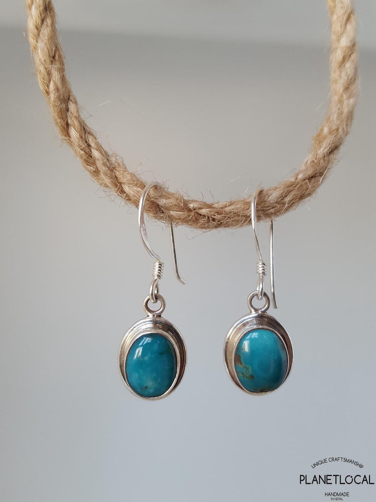 ENCHANTED- Handmade 925 Sterling Silver Earrings - PLANETLOCAL