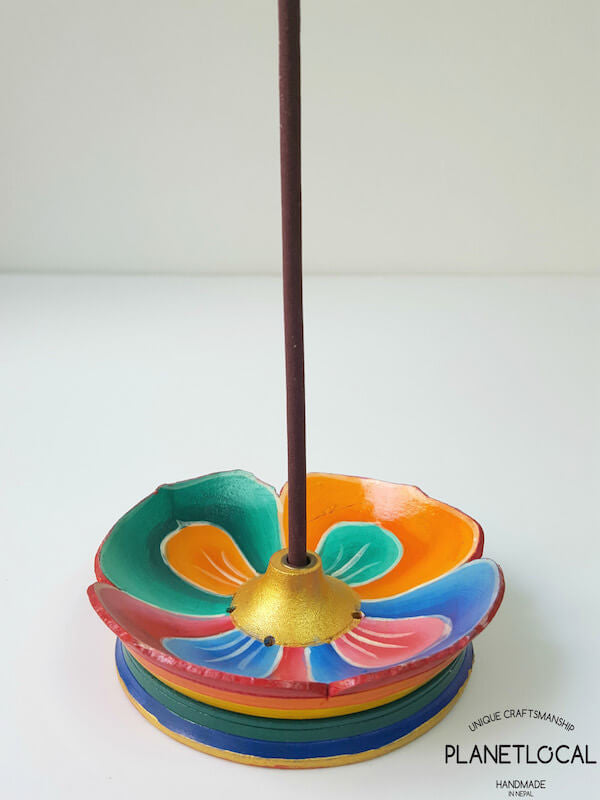 Flower Pattern Incense Holder