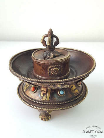 First Edition Handmade Copper Incense holder