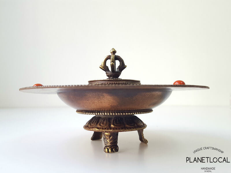 Second Edition Handmade Copper Incense holder