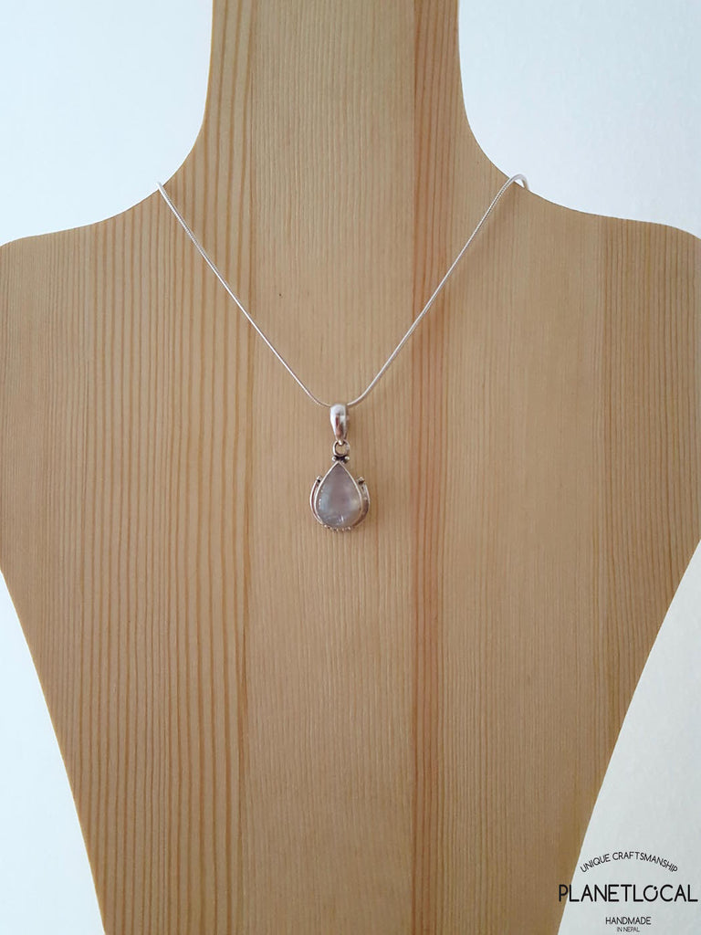 DROPS - Handmade 925 Sterling Silver Pendant - PLANETLOCAL