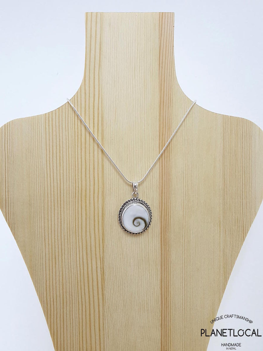 ROUNDS - Handmade 925 Sterling Silver Pendant - PLANETLOCAL (1)