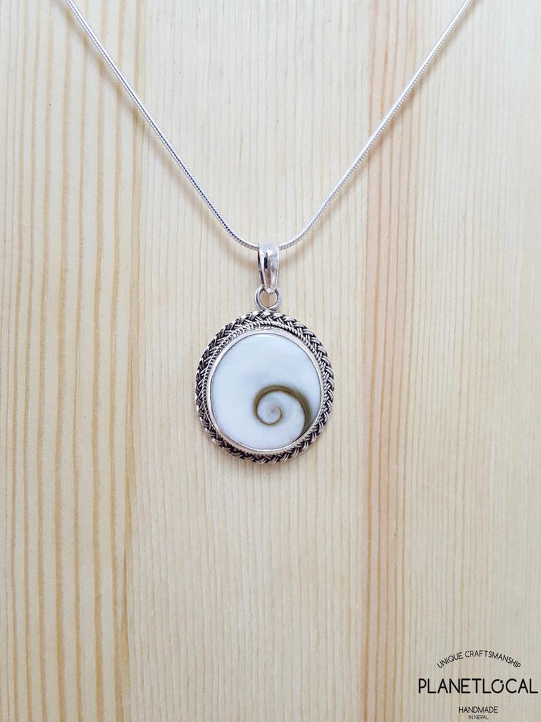 ROUNDS - Handmade 925 Sterling Silver Pendant - PLANETLOCAL