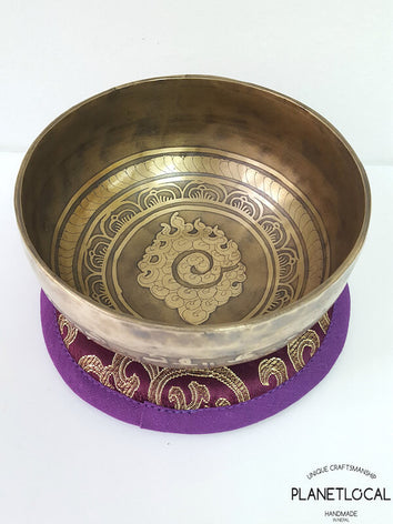12cm Mantras of Compassion Singing Bowls-Fire