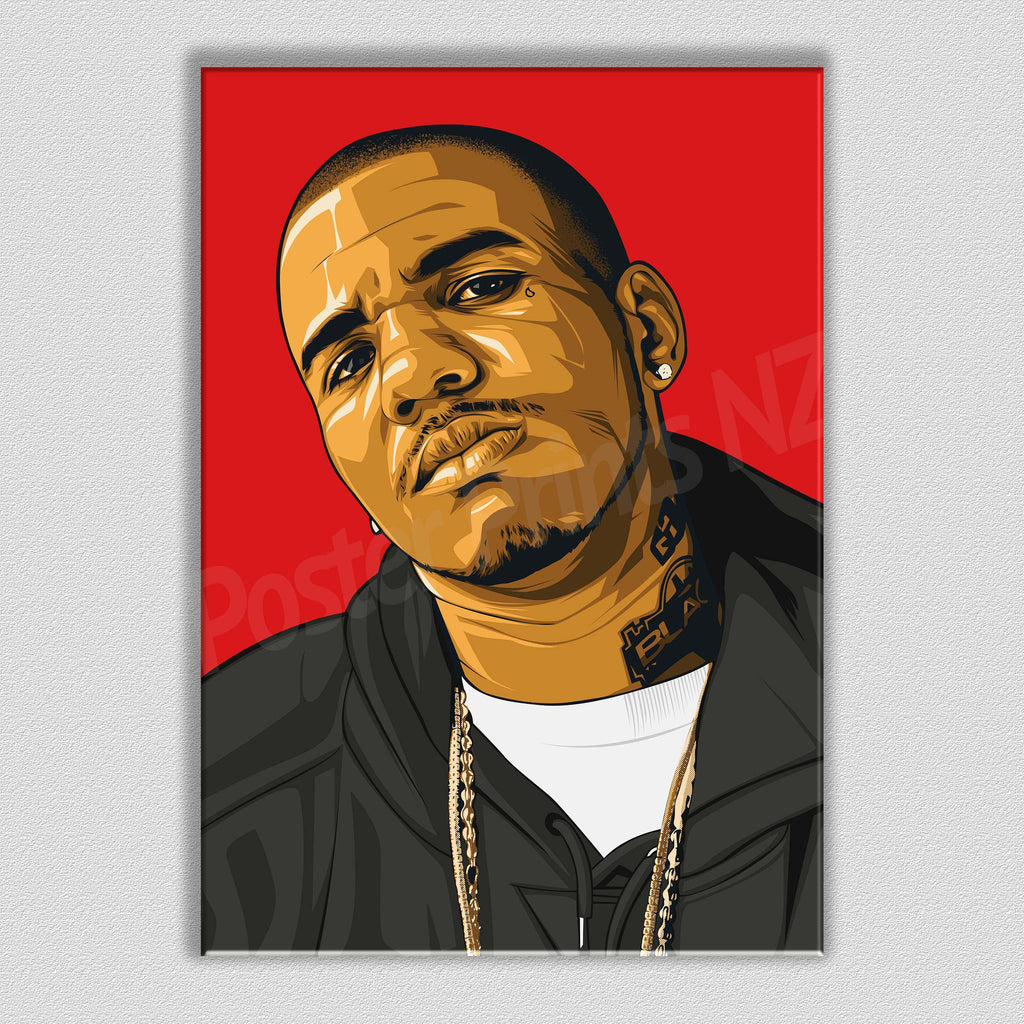 The Game Framed Art Canvas - Poster Prints NZ