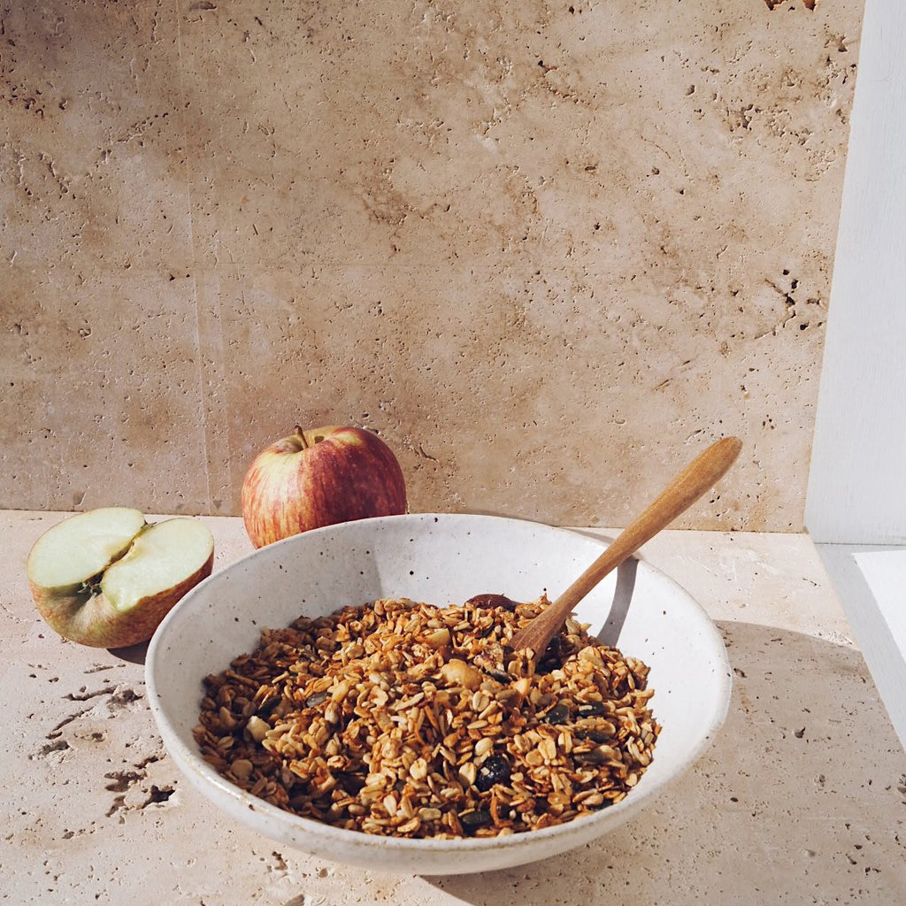The Daily Pantry - Premium Cranberry, Apple + Coconut Granola