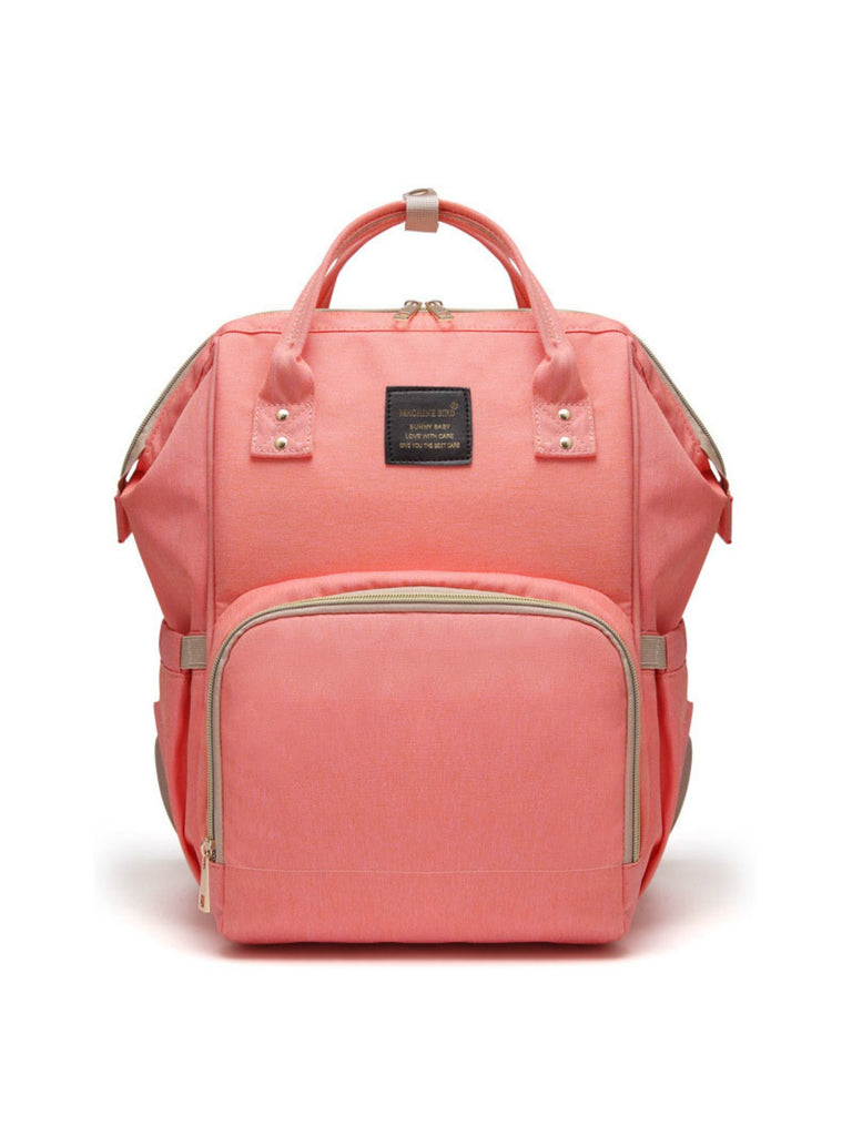 Backpack Nappy Bag | Coral
