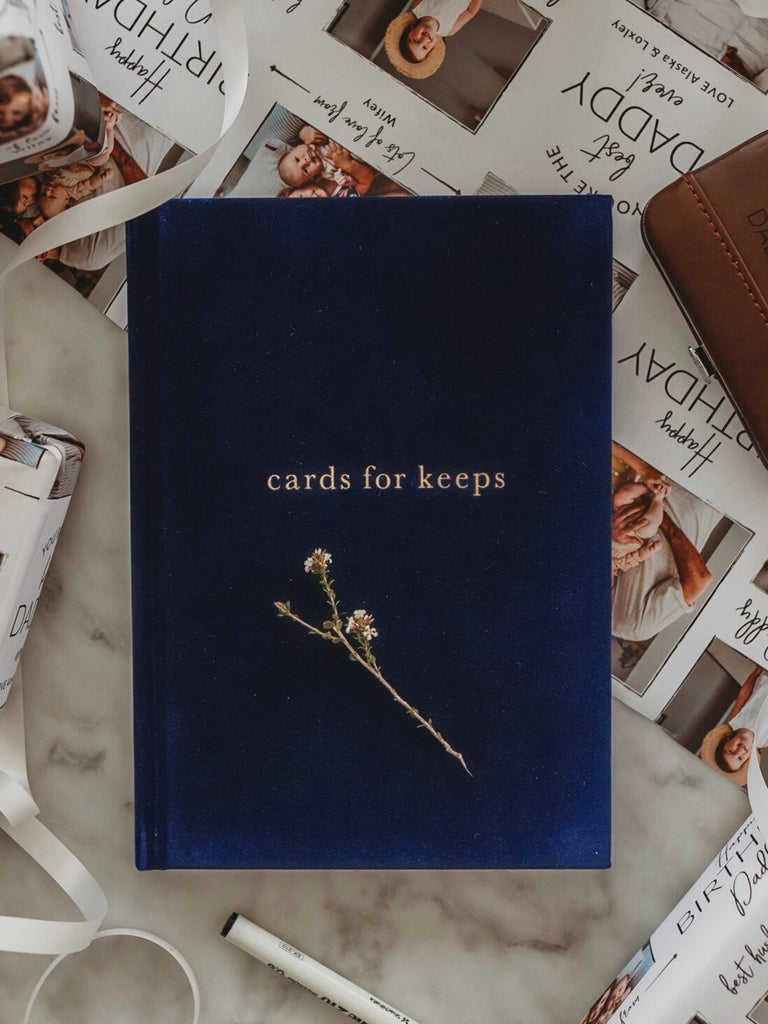 Write to Me Cards For Keeps | Navy