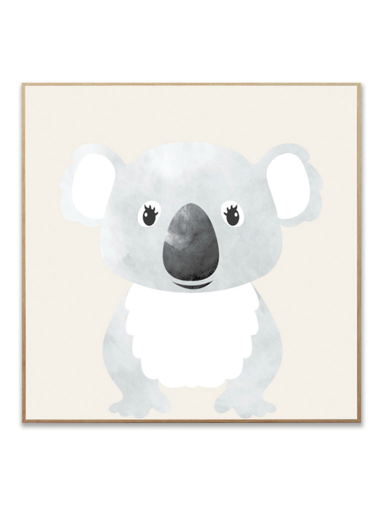Australiana Koala Canvas