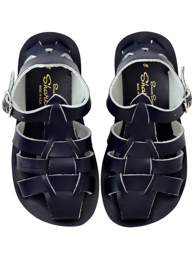 Salt Water Sandals Kids | Sun-San Shark Navy