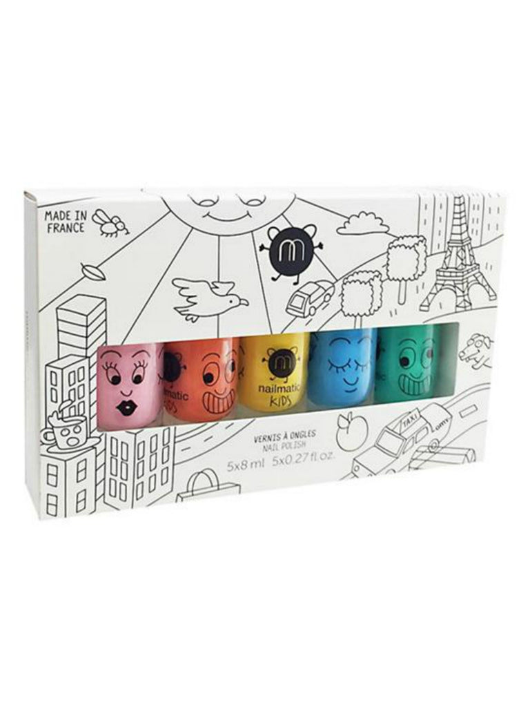 Kids Nail Polish Gift Box (5 Pcs)